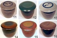 Stoneware French Butter Dishes